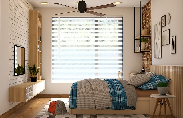 bedroom ceiling fan