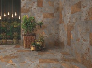 No slip outdoor tiles